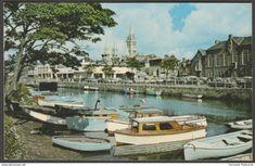 Truro from the Quay, Cornwall, 1969 - Jarrold Postcard