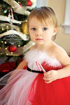 Christmas Santa Tutu Dress by MyPreciousTutu on Etsy