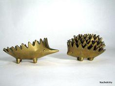 Walter Bosse stacking hedgehog ashtrays
