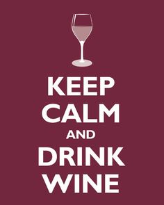 I need a calm, wine evening sitting outside in the very near future!