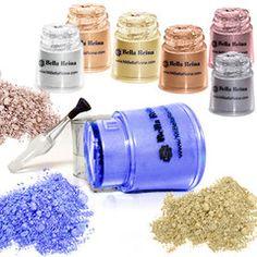 Best Mineral Eyeshadow Collection   Mi Bella Reina