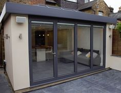 Complete Solutions for Bi Fold Doors, Windows, Patio Doors, French Doors House Extension Plans, House Extension Design, Roof Extension, House Design, Flat Roof Design, Extension Ideas, Bungalow Extensions, Garden Room Extensions, House Extensions