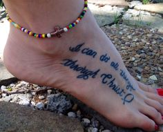 Seed bead stretch ankle bracelet with your by FireSpiritandSoul, $7.00