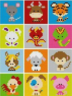 Ideas Crochet Baby Disney Perler Beads For 2019 Pixel Crochet, Bead Crochet Patterns, Hama Beads Patterns, Beading Patterns, Knitting Patterns, Perler Bead Art, Perler Beads, Fuse Beads, Cross Stitch Designs