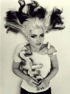 blondie debby harry punk ombre?