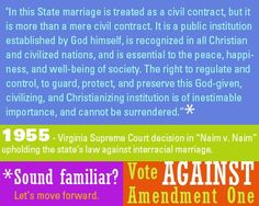 The government is at it again... Vote AGAINST Amendment One!