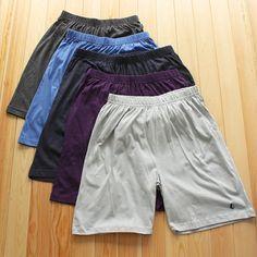 外贸男士大码休闲短裤 夏季热销中老年裤头 家居 宽松 纯色
