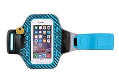 Flexifoil Premium Android and iPhone Case for Arm. Perfect Armband for Running, Gym, Sports and Exercise. Comfortable Neoprene Sportsband iPod and Phone Holder for Men and Women. With LED Night Vision