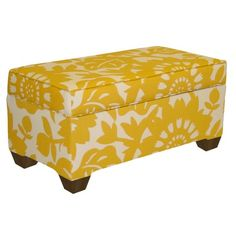 I pinned this Gerbera Storage Bench from the Pretty Handy Girl event at Joss and Main!