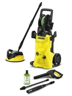 Karcher K 4 Premium Ecologic Home - http://www.hall-fast.com/industrial-commercial-equipment/janitorial-equipment/professional-cleaning-solutions/karcher-high-pressure-cleaners/karcher-cold-water-high-pressure-cleaners/k-4-premium-ecologic-home/