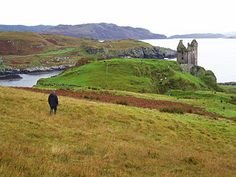 Gylen Castle, on the southern part of the island of Kerrera in Argyll and Bute, juts dramatically into the sky on the tip of a promontory overlooking the Firth of Lorne.     Built in 1582 by the Clan MacDougall. Gylen was only occupied for a relatively short period of time. The castle was besieged then burned by the Covenanters under General Leslie in 1647 during the Wars of the Three Kingdoms. In May 2006 a restoration of the castle was completed with a £300,000 grant by Historic Scotland…