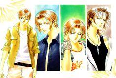 Genwaku no Kodou (or Yami no Kodou, title varies), a supernatural shounen-ai manga.