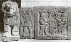Hittite-Aram, gate relief, Sakçagözü, Museum  of Anatolian Civilization , Ankara (Ekrem Akurgal) (Erdinç Bakla archive)