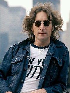Levi's Indie Trucker Men Slim Fit Vintage Denim Jacket Size L - John Lennon