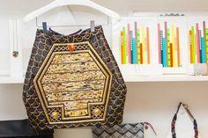 Balmain skirt + Cityscape Print