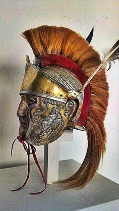 Senatus Populus Que Romanus Medieval, Roman Helmet, Roman Armor, Ancient Armor, Roman Legion, Roman Soldiers, Roman History, Fantasy Armor, Ancient Artifacts