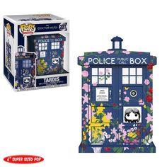 Doctor Who Clara Memorial TARDIS Pop! Vinyl from Funko. Perfect for any Company_Funko Product Type_Pop! Vinyl Figures Theme_Doctor Who fan! The Tardis, Doctor Who Tardis, Doctor Who Clara, 12th Doctor, Pop Vinyl Figures, Funko Pop Figures, Clara Oswald, Matt Smith, Mug Game Of Thrones