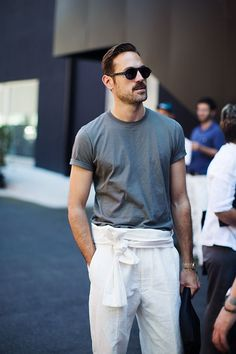 On the Street…Casual Friday, Milan