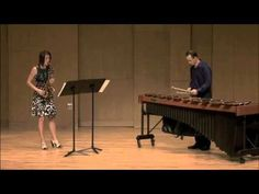 Wink - Saxophone/Marimba Duo performed by UNT Faculty Mark Ford and Ann Bradfield