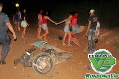 R a g news noticias : Monte Negro:Choque entre motos deixa um morto e dois feridos imagens fortes.