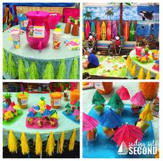 Learn how to turn your classroom into a fun indoor beach day! Kindergarten Party, Kindergarten Graduation, Luau Theme, Luau Party, Circus Theme, Theme Parties, Indoor Beach Party, Beach Theme Preschool, End Of Year Party