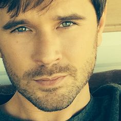 He has got the most gorgeous eyess.