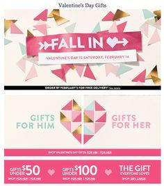 valentines day web design