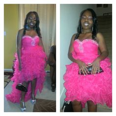 Here's Andriana Webb looking amazing in her hot pink #HighLowPromDress from OuterInner.com! Read the review here: http://www.outerinner.com/blog/2013/05/27/outerinner-customer-reviews-prom-dress/ If you like this prom dress then you can order yours here: http://www.outerinner.com/hot-pink-beading-ruffles-hi-lo-prom-dress-pd-10947-0.html?k=10947 #OuterInner