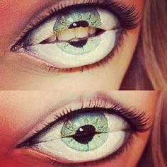 Maquillaje para Halloween: ojos que no son ojos