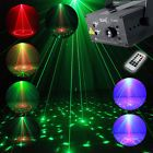 SUNY 24 Gobos FULL COLOR RGB LASER STAGE LIGHTING RED GREEN BLUE LED Disco Light