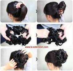 Bellissimi elastici di capelli, pronti per infoltire la tua coda! http://www.le-extension.com/sottocategoria/1-elastici-di-capelli.asp