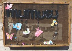 Exhibitor mumusu pendants made with a flour sifter.