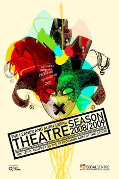segal theatre - by departement