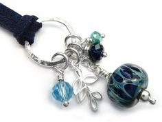 Lampwork Glass Pendant - Ocean Spirit