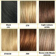 soffice senza cappuccio di alta qualità breve ondulati mono capelli umani top parrucche sei colori tra cui scegliere – EUR € 64.99