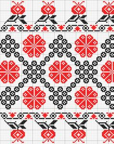 Almás Hungarian Folk Embroidery Cross Stitch Borders, Cross Stitch Charts, Cross Stitch Designs, Cross Stitching, Cross Stitch Patterns, Folk Embroidery, Vintage Embroidery, Cross Stitch Embroidery, Embroidery Patterns