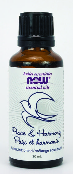 Now Peace and Harmony Essential oil Blend 30ml | Sunrise Health Foods
