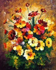 flores pintadas - Pesquisa Google