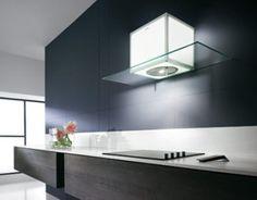 Mueble persiana con encimera cocina pinterest for Campanas de cocina de diseno