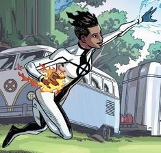 Idie Okonkwo Earth 616 From All New X Men Annual Vol 2 1 002 Female Superheroes And Villains X Men Marvel