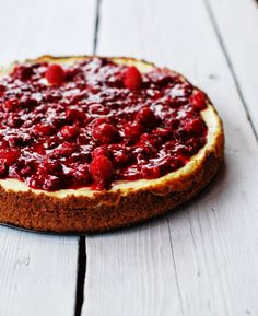 Jak na cheesecake — Foodlover Just Desserts, Delicious Desserts, Pie Cake, Pepperoni, Cheesecakes, Nom Nom, Bakery, Good Food, Pizza