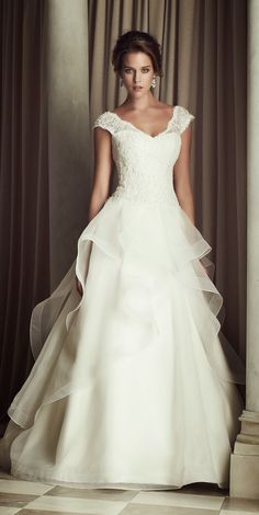 Paloma Blanca Wedding Dress 2014