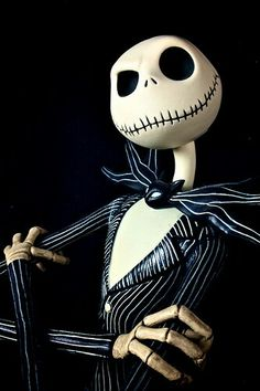 Jack Skelington. And though he is dead and can take off his head, I love this undead man.