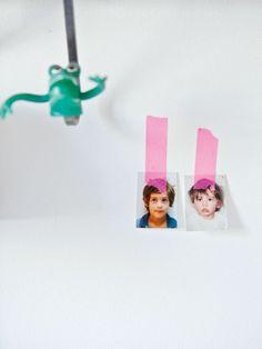 Paris : Chez la fondatrice de My Little Day Masking Tape, Washi Tape, Serge Mouille, Vide Poche, Milk, Design, Decor, Magazine, Photos