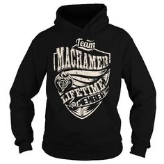 Awesome Tee Team MACHAMER Lifetime Member (Dragon) - Last Name, Surname T-Shirt Shirts & Tees