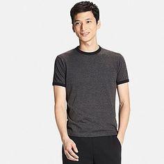 MEN U Packaged Dry Crew Neck Short Sleeve T-Shirt