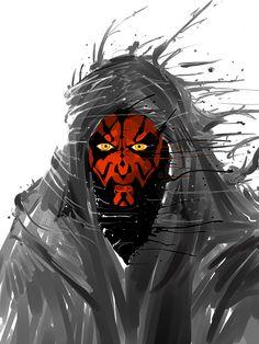 Star Wars Jedi, Star Wars Art, Star Wars Canon, Darth Maul, Sith, Clone Wars, S Star, Far Away, Sci Fi