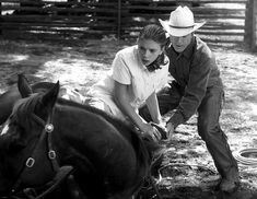 The Horse Whisperer. Such a brilliant, sad, touching, feel good type of movie.