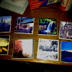 Our Instagram coasters!!!
