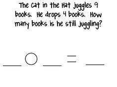 Dr. Seuss story problems